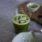 Macha elderflower spritz
